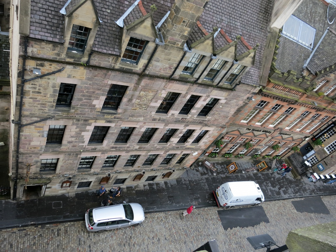Вид на город Эдинбург