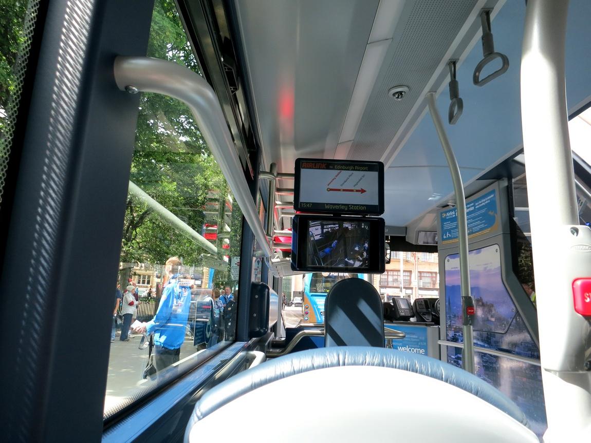 Автобус в Эдинбурге