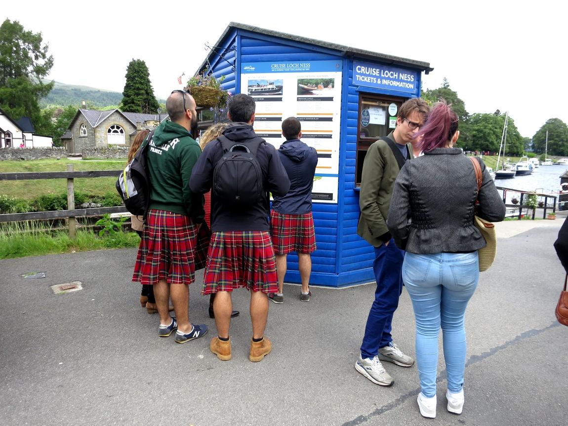 Шотландцы в килтах