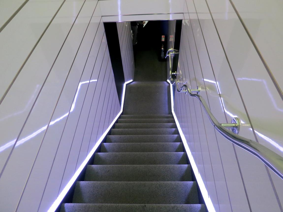 Лестница в гостинице Лондона