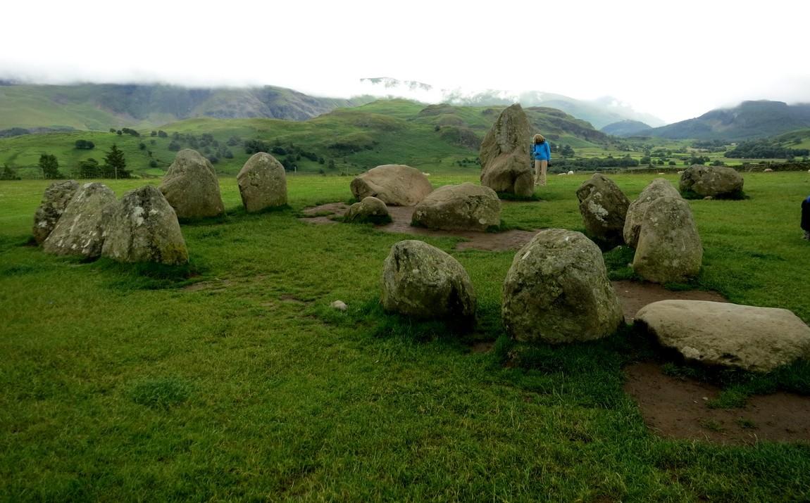 Каслриггское каменное кольцо, Озерный край, Англия