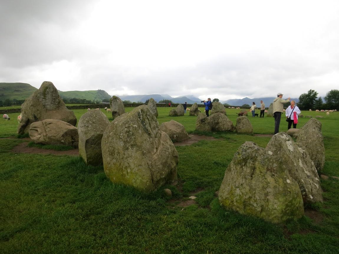 Каслриггское каменное кольцо, Озерный край