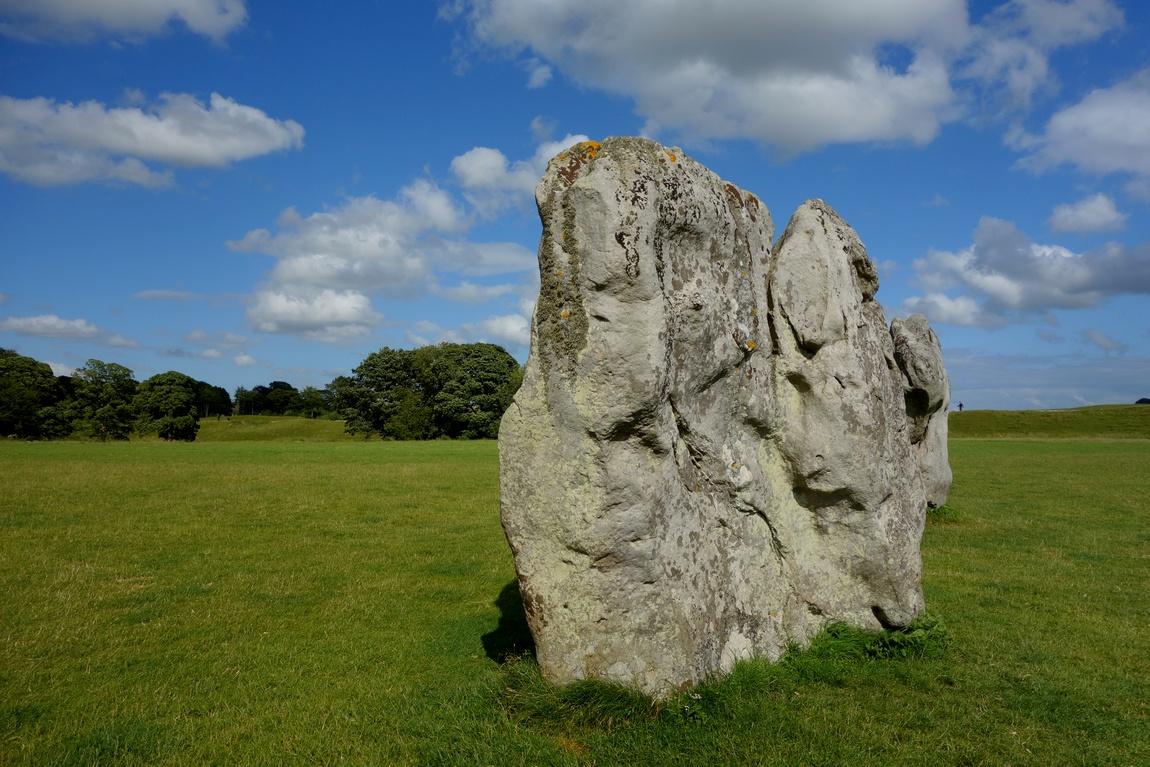 Каменные грыбы в Эвбери (Англия)