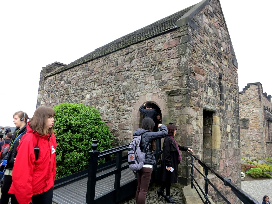 Эдинбургский замок - часовня Св. Маргариты
