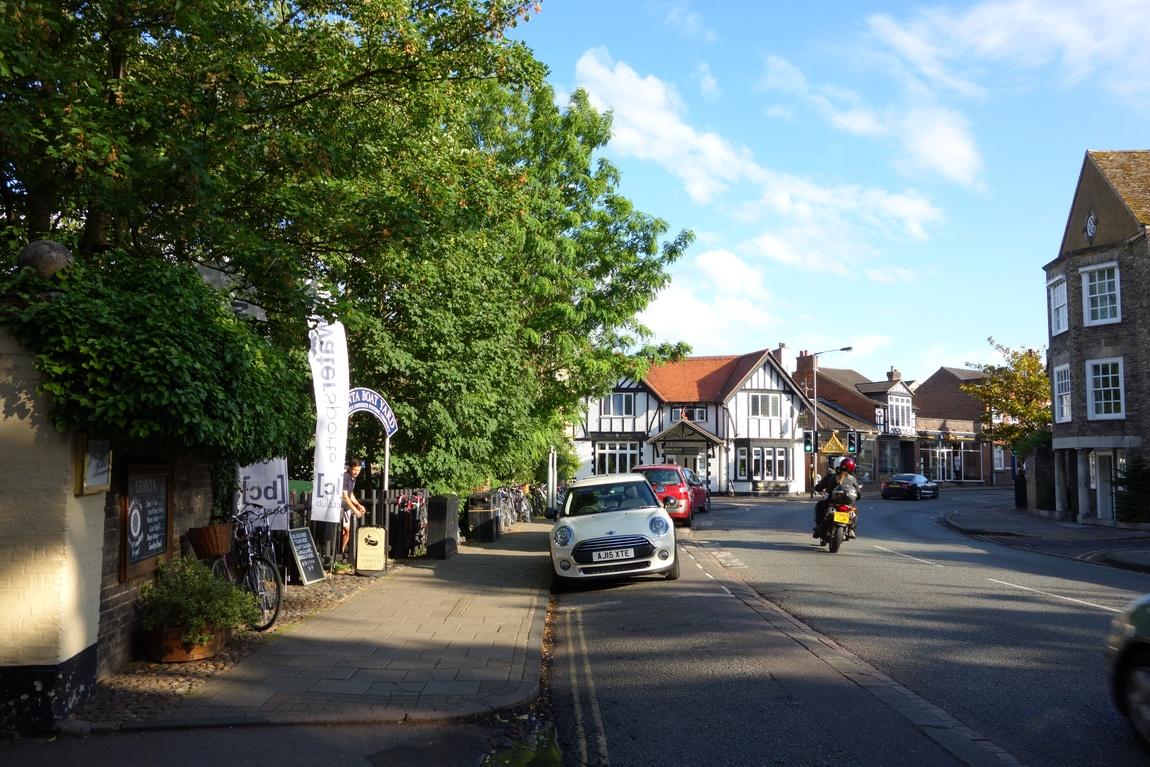 Улица в Кембридже, Англия