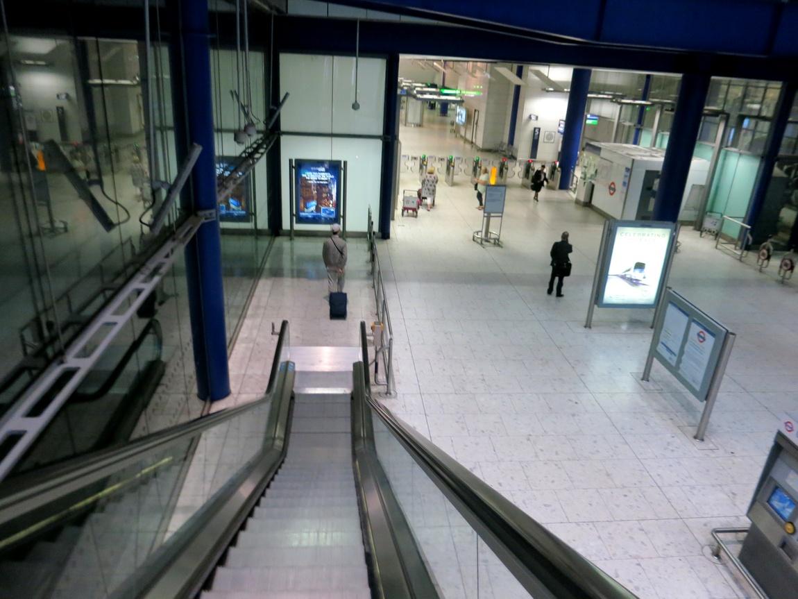 Аэропорт в Хитроу (Лондон)