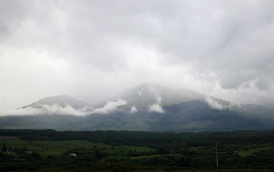 Туманный Бен Невис, Шотландия