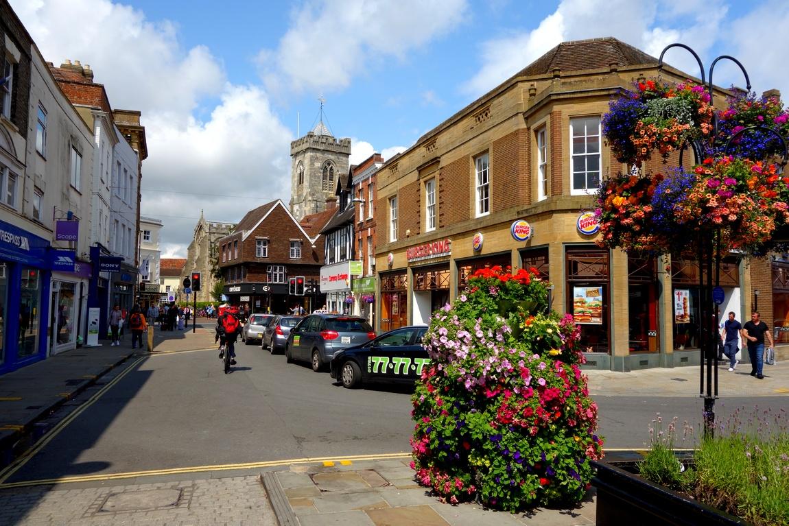 Солсбери - очень красивый город Англии