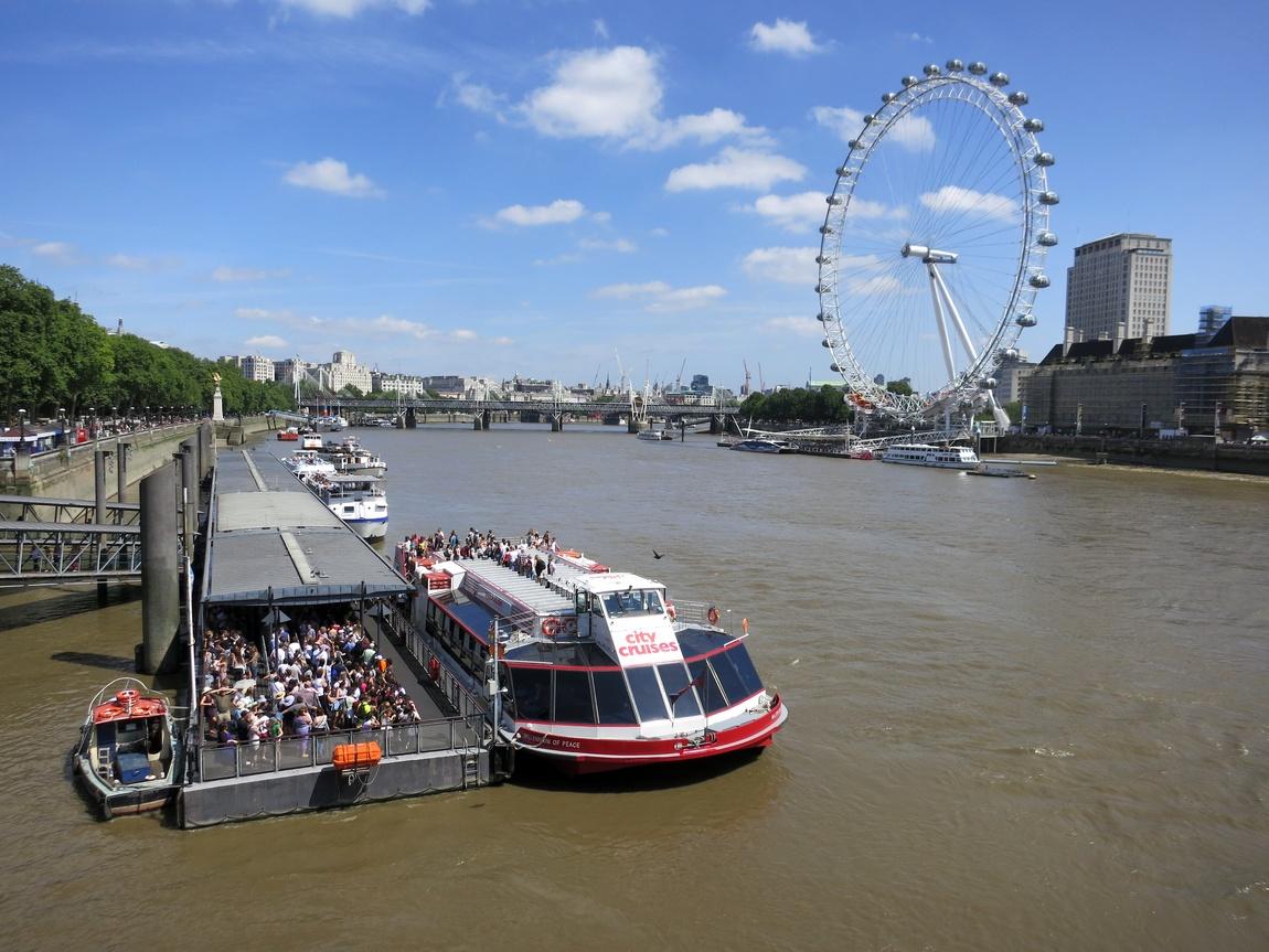 Темза в центре Лондона
