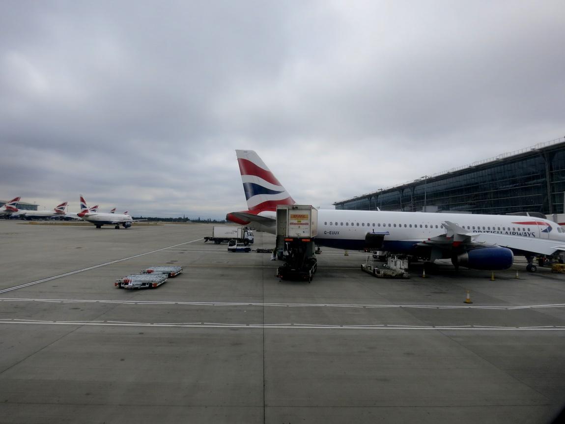 Самолёт в аэропорту
