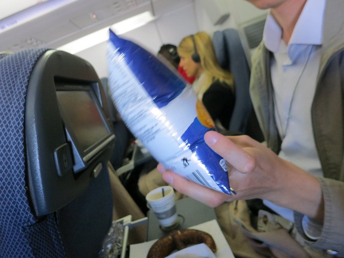Чипсы в полёте