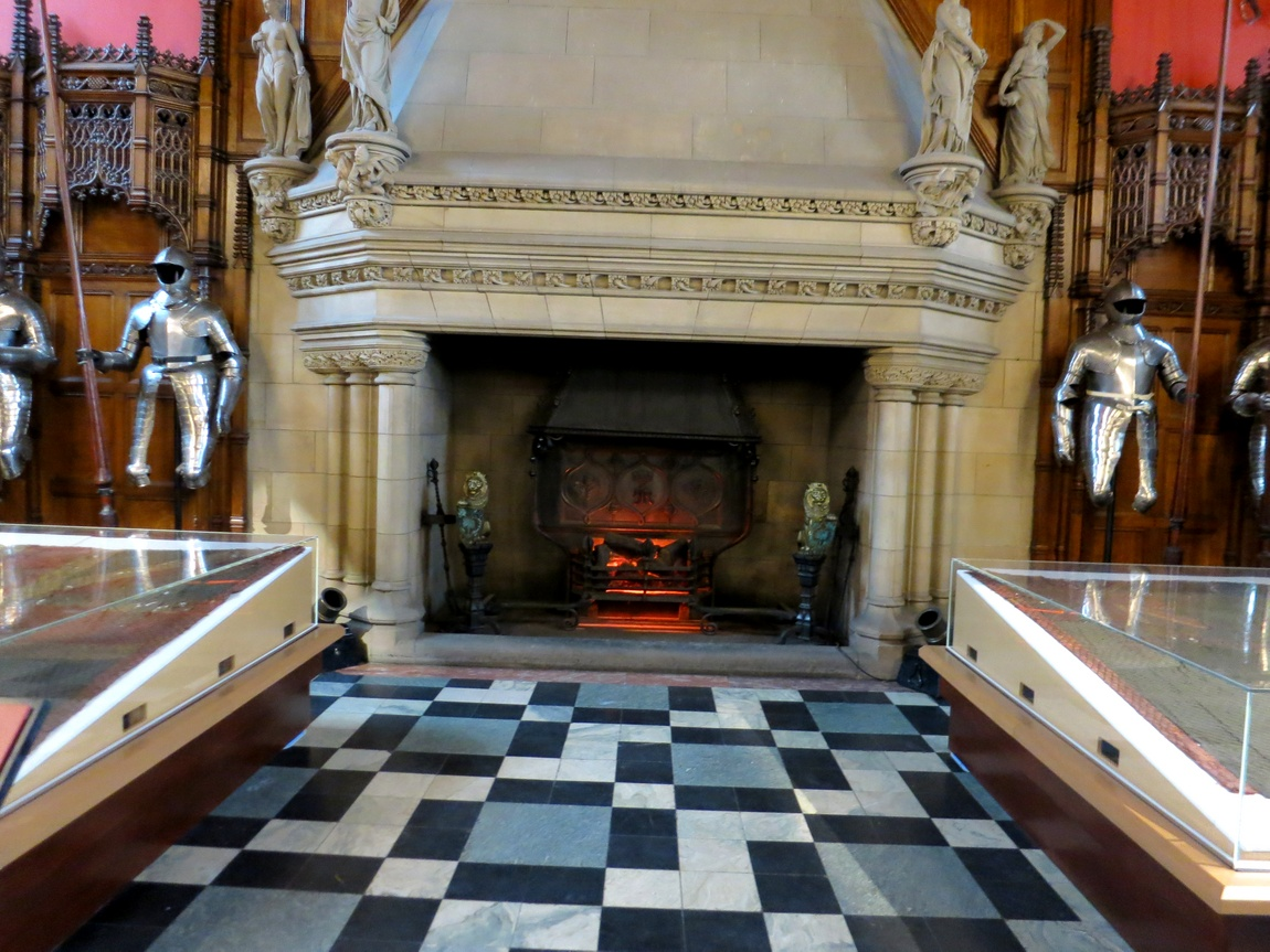 Интерьеры Эдинбургского замка