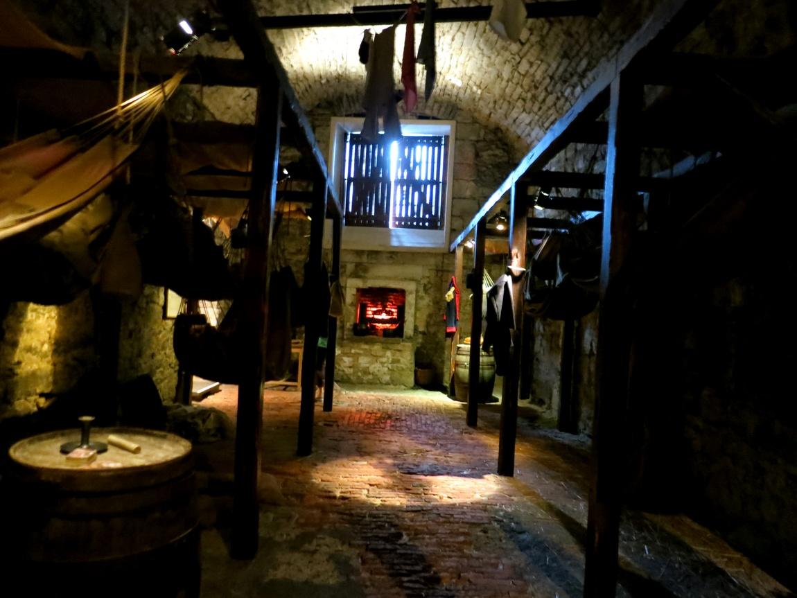 Эдинбургский замок - тюрьма
