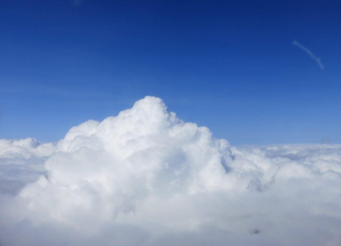 Облака с высоты самолёта