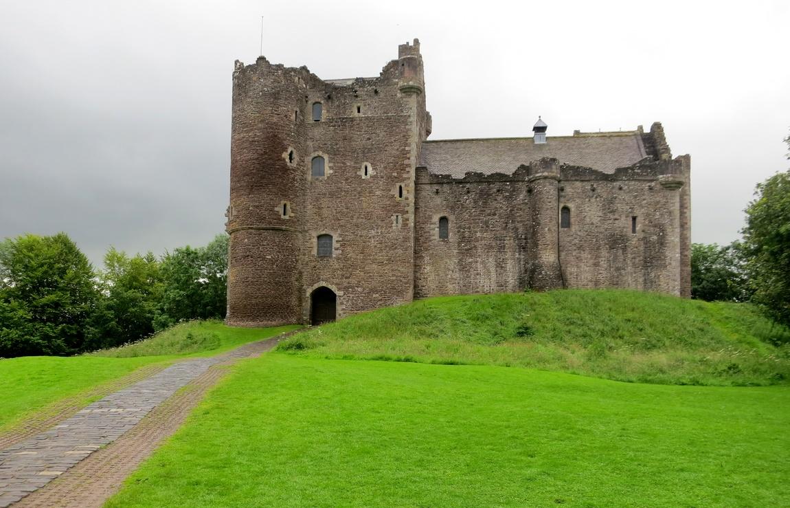 Замок Дун Касл, Шотландия