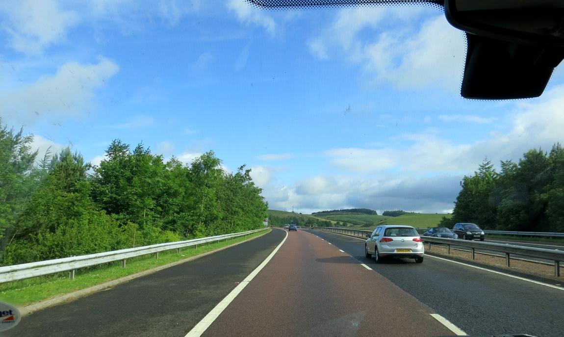 Трасса в Шотландии