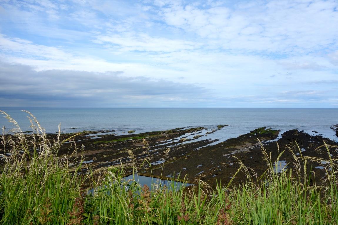 Море у замка Святого Андрея - Шотландия