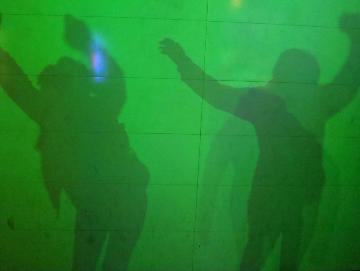 Музей оптических иллюзий - застывшая тень