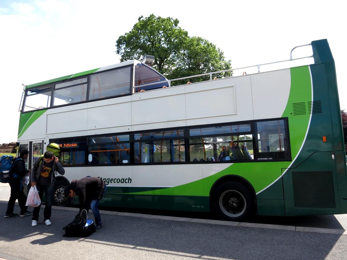 Автобус в Шотландии