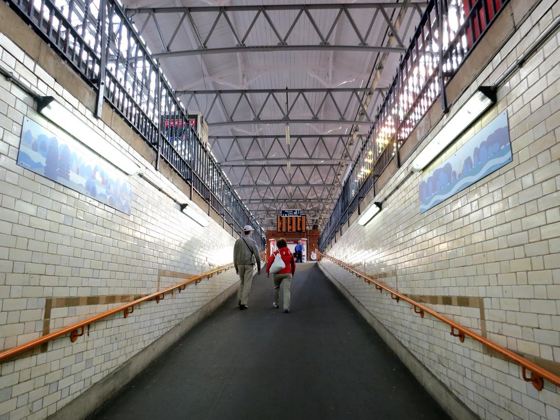 Переходы вокзалов в Англии