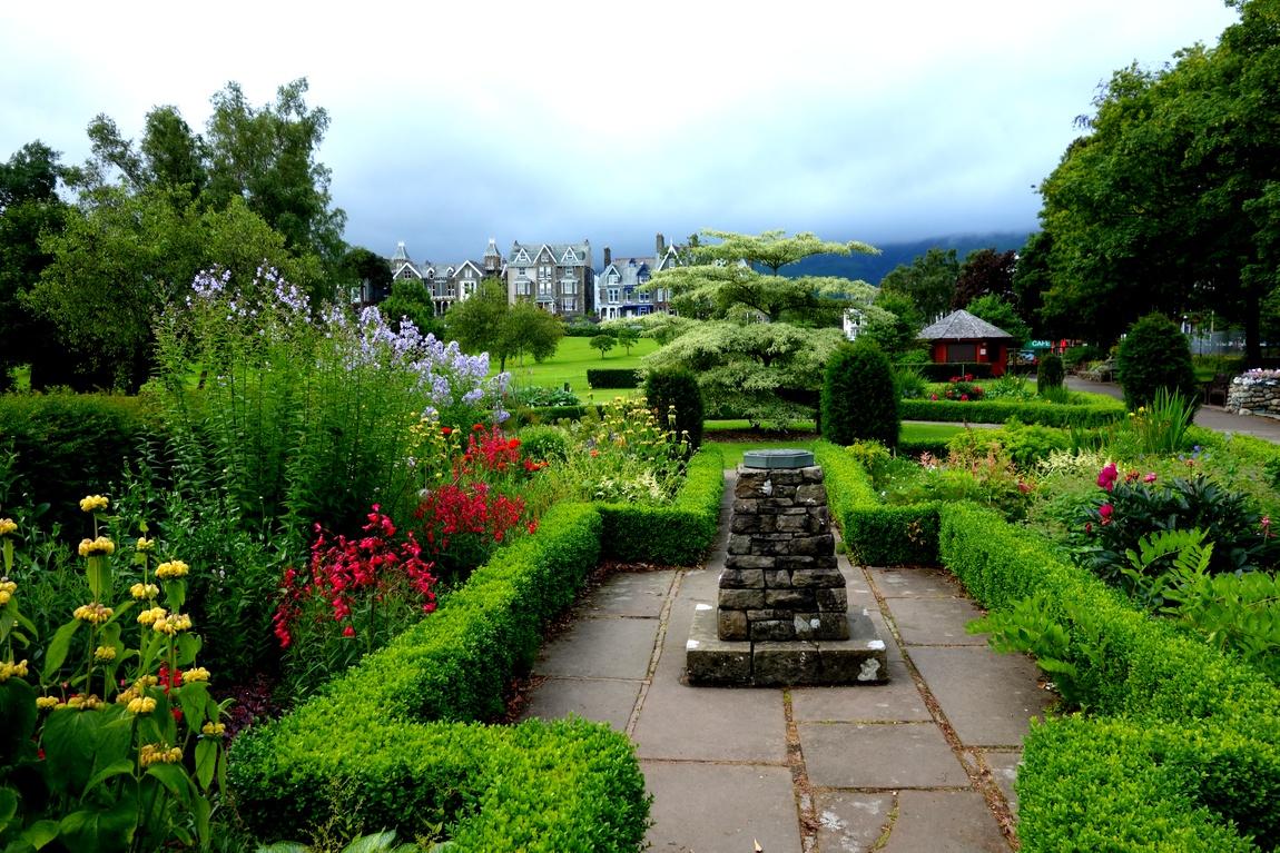 Парк в городе Кесвик (Англия).