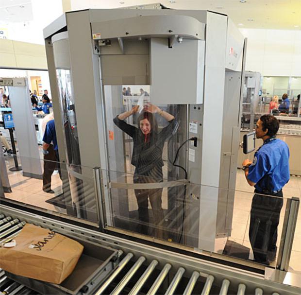 Сканеры в аэропорту