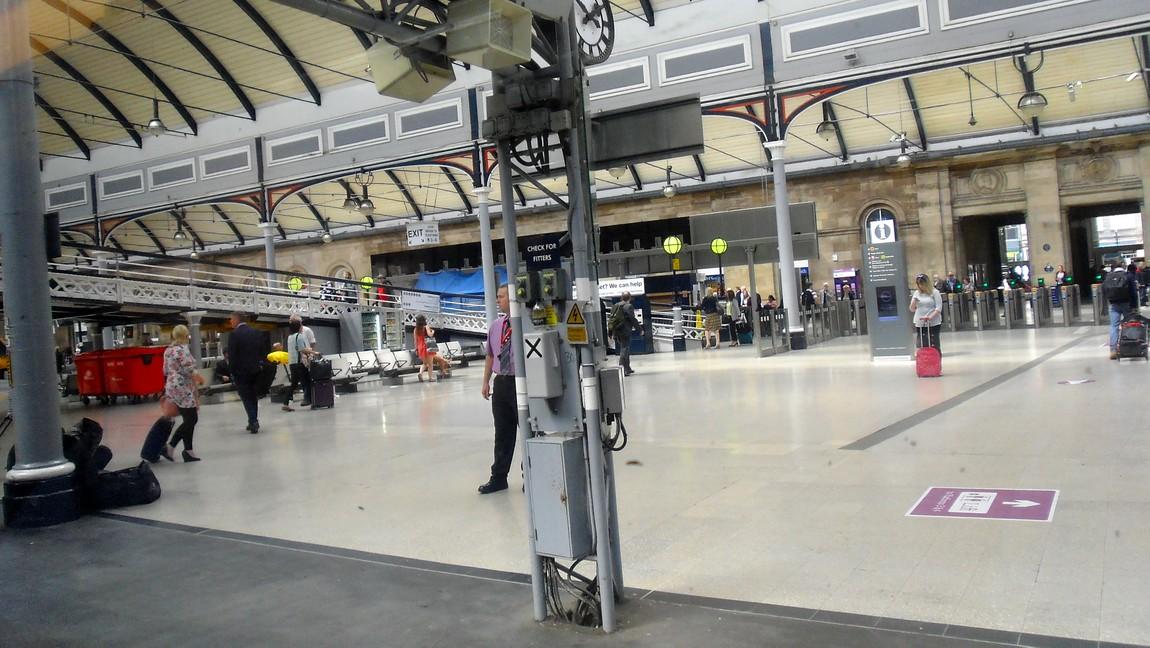 Вокзал в Лондоне