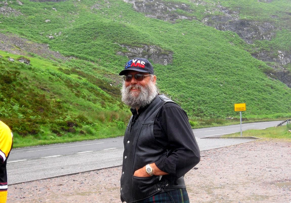 Водитель шотландец