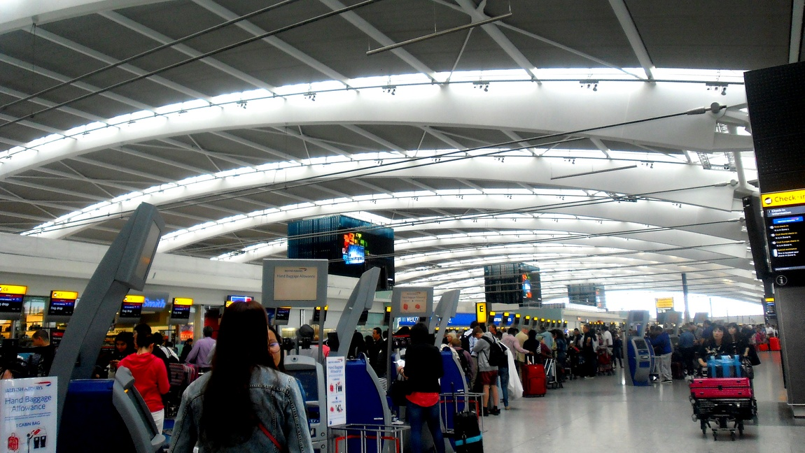Аэропорт в Англии