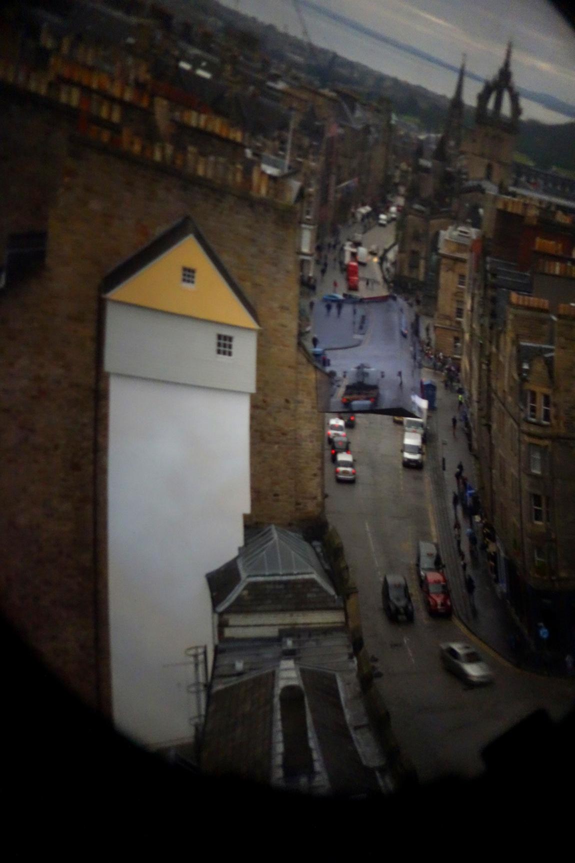 Камера обскура в Эдинбурге