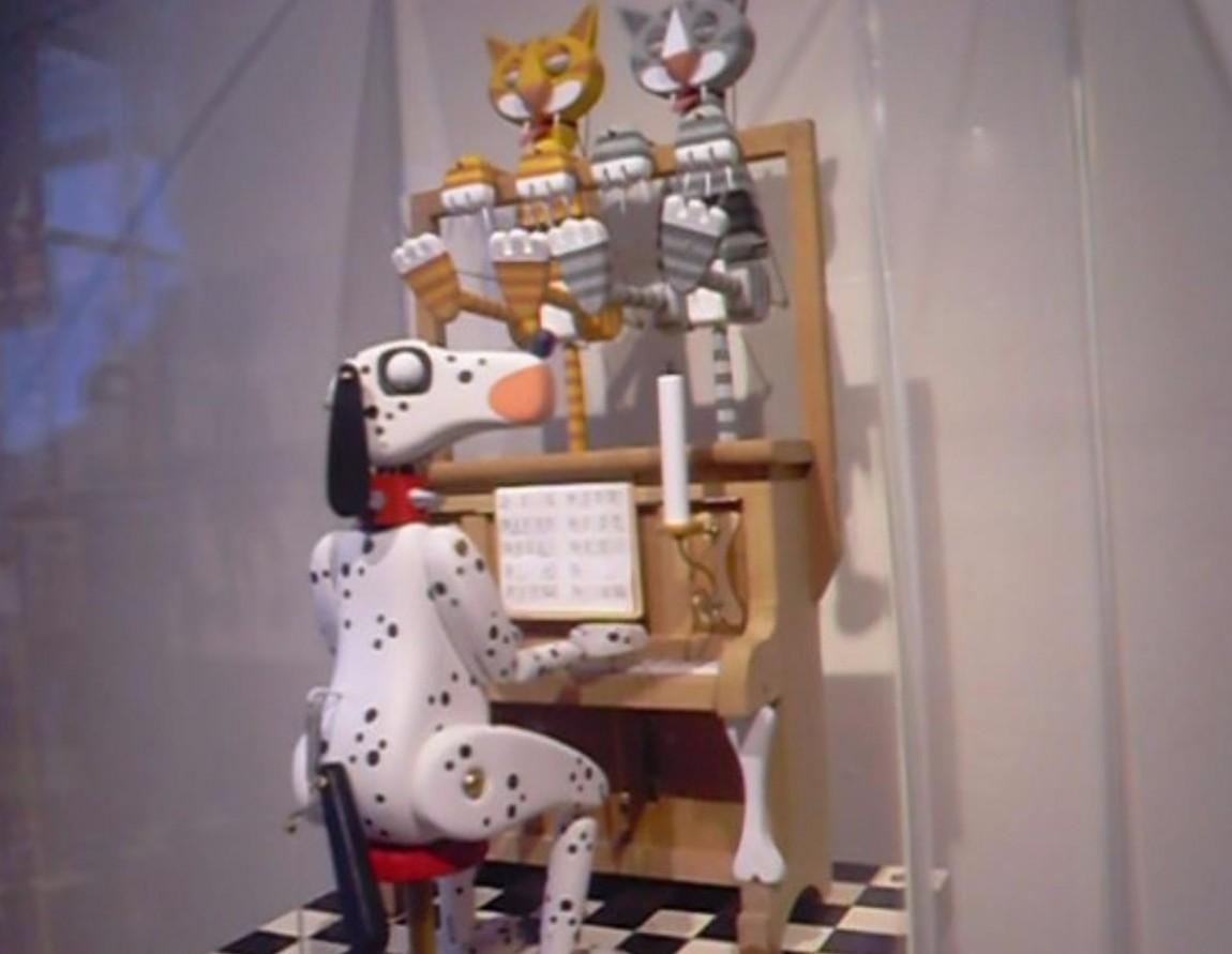 Поющие коты - музей оптических иллюзий