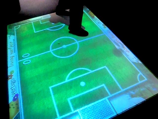 Виртуальный футбол. Музей оптических иллюзий