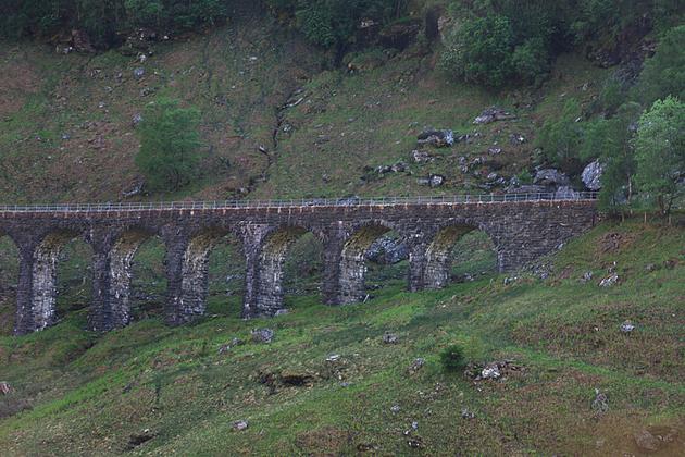 Мост Гарри Потера в Шотландии