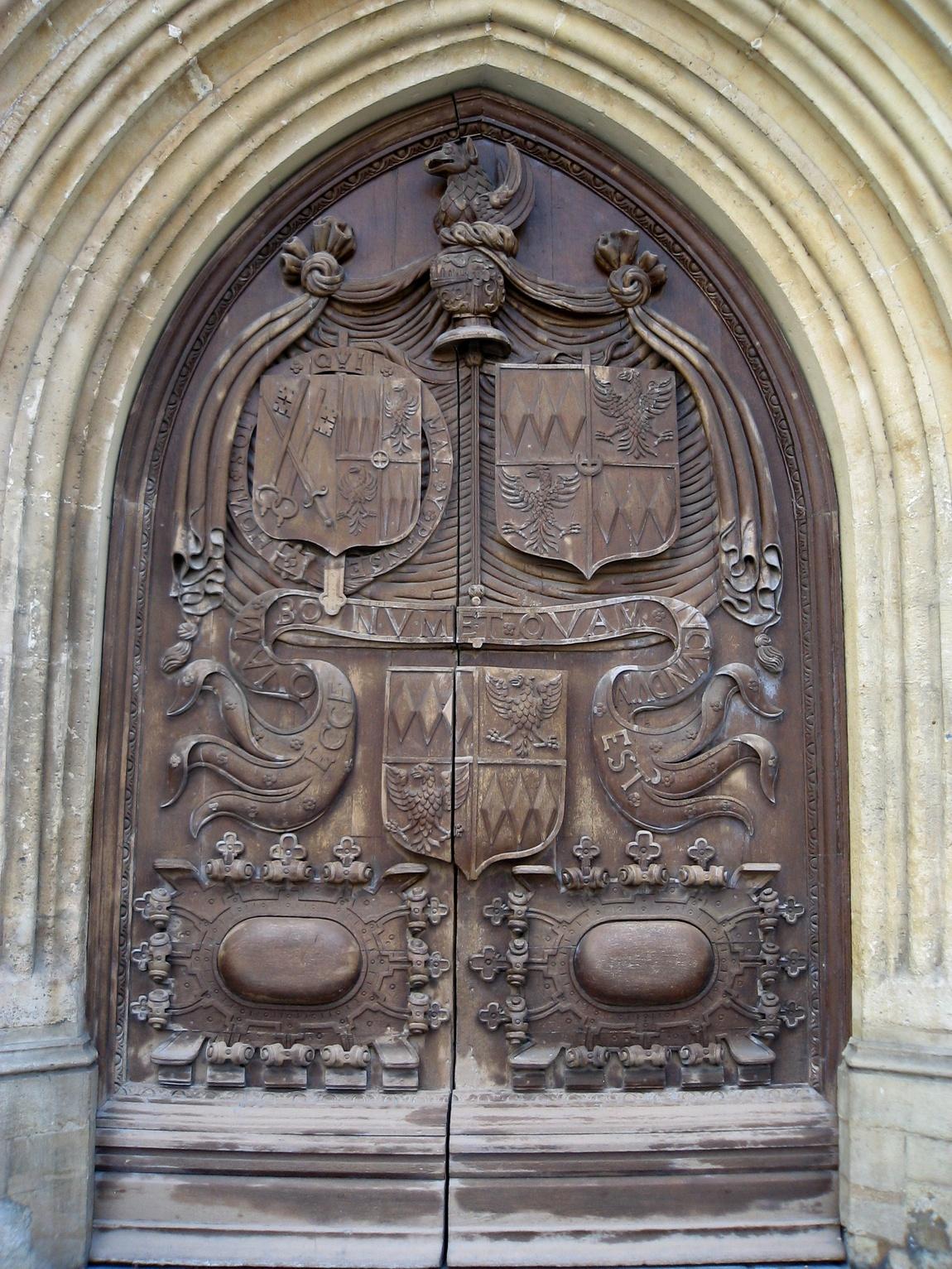Ворота в городе Бат (Англия)