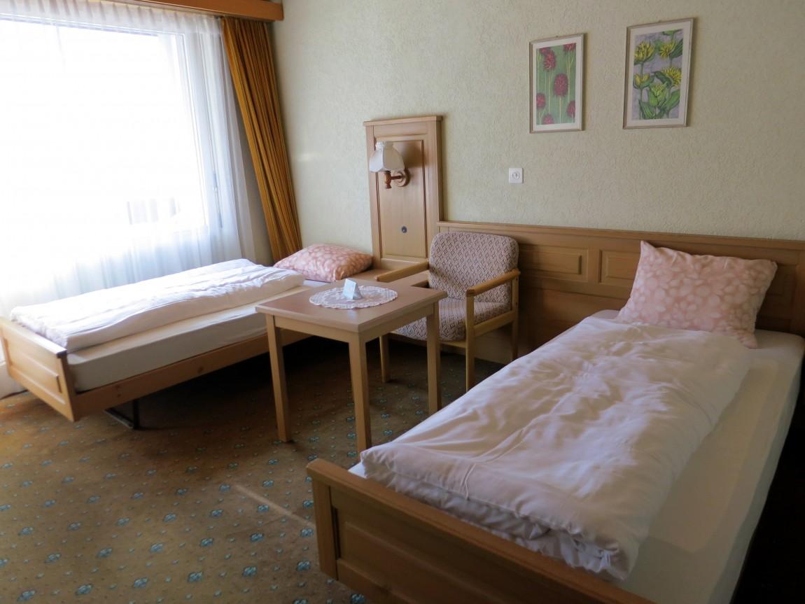 Горная гостиница Альпина Гринденвальд (Швейцария).