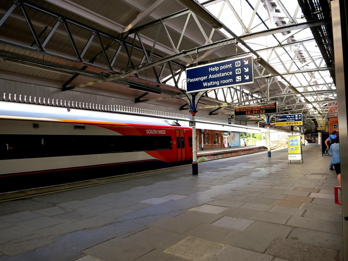 Вокзал Англия