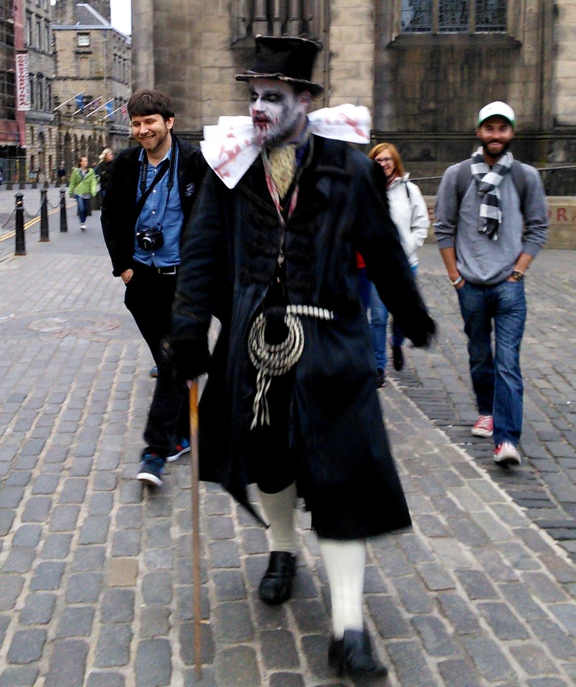 """""""Нищие духом"""" в Шотландии"""