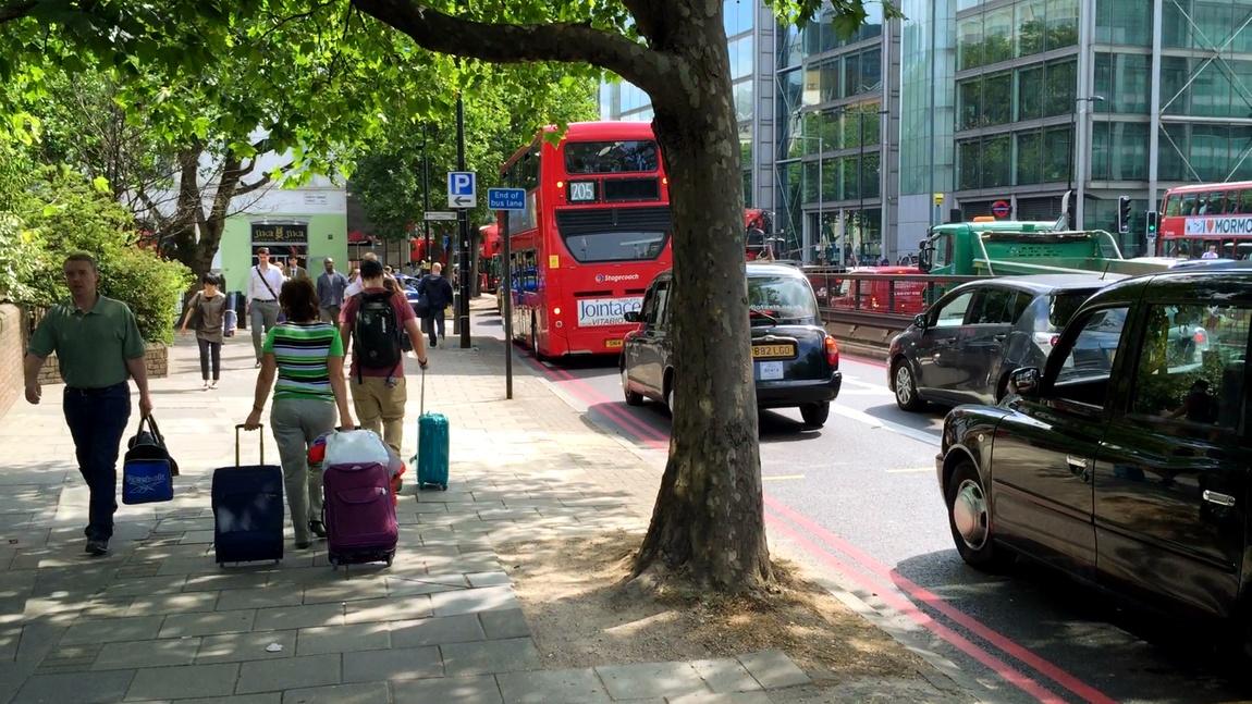 Лондон -забастовка