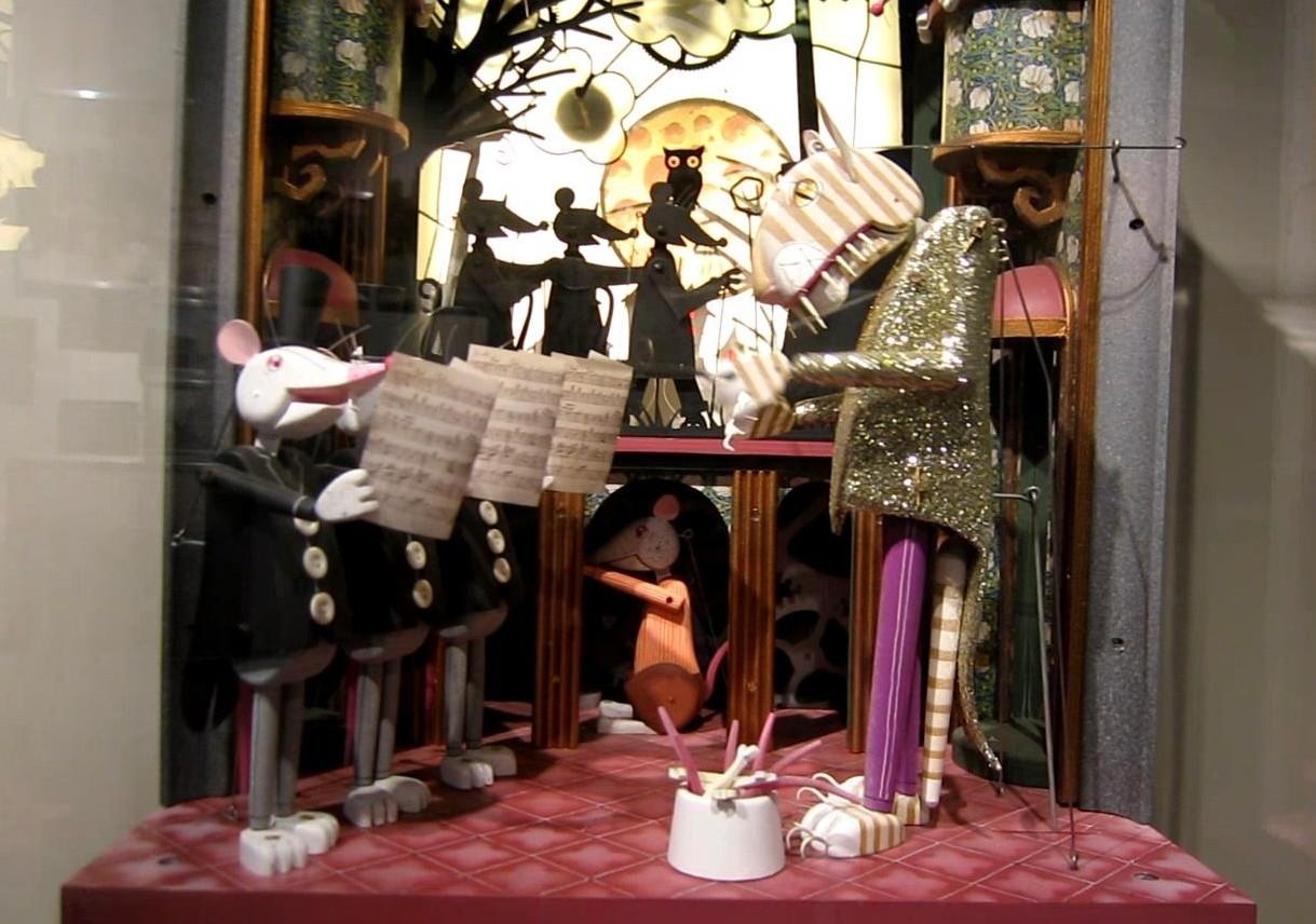 Музей оптических иллюзий - поющие мыши