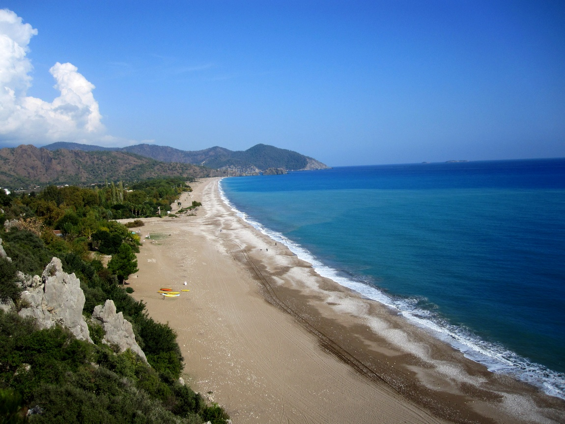 Турция - берег моря