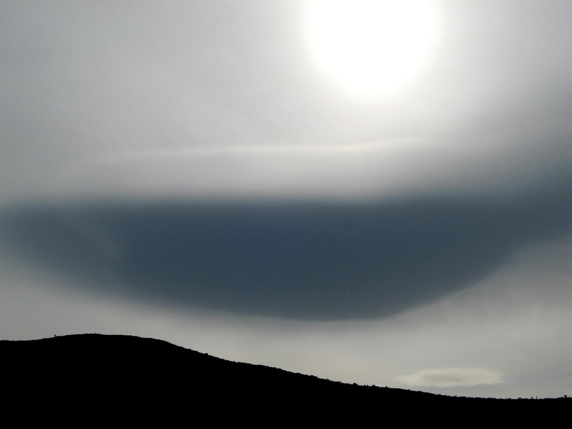 Странное облако в Греции
