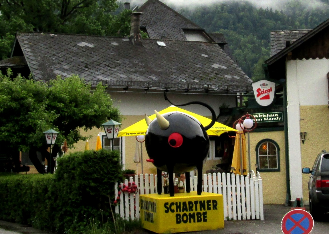 Комичная фигурка бомбы с рогами (Австрия)