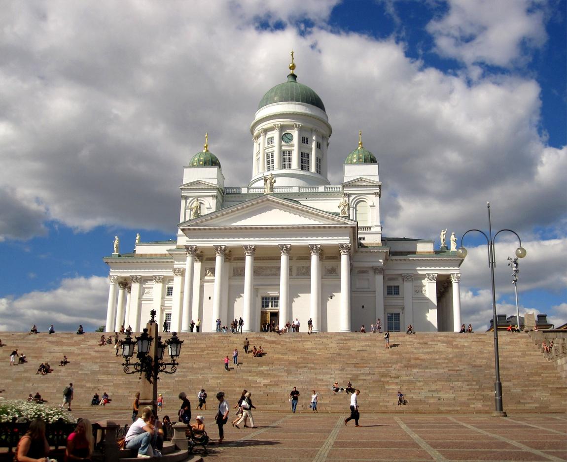 Невский Собор в честь Александра I. Хельсинки (Финляндия)