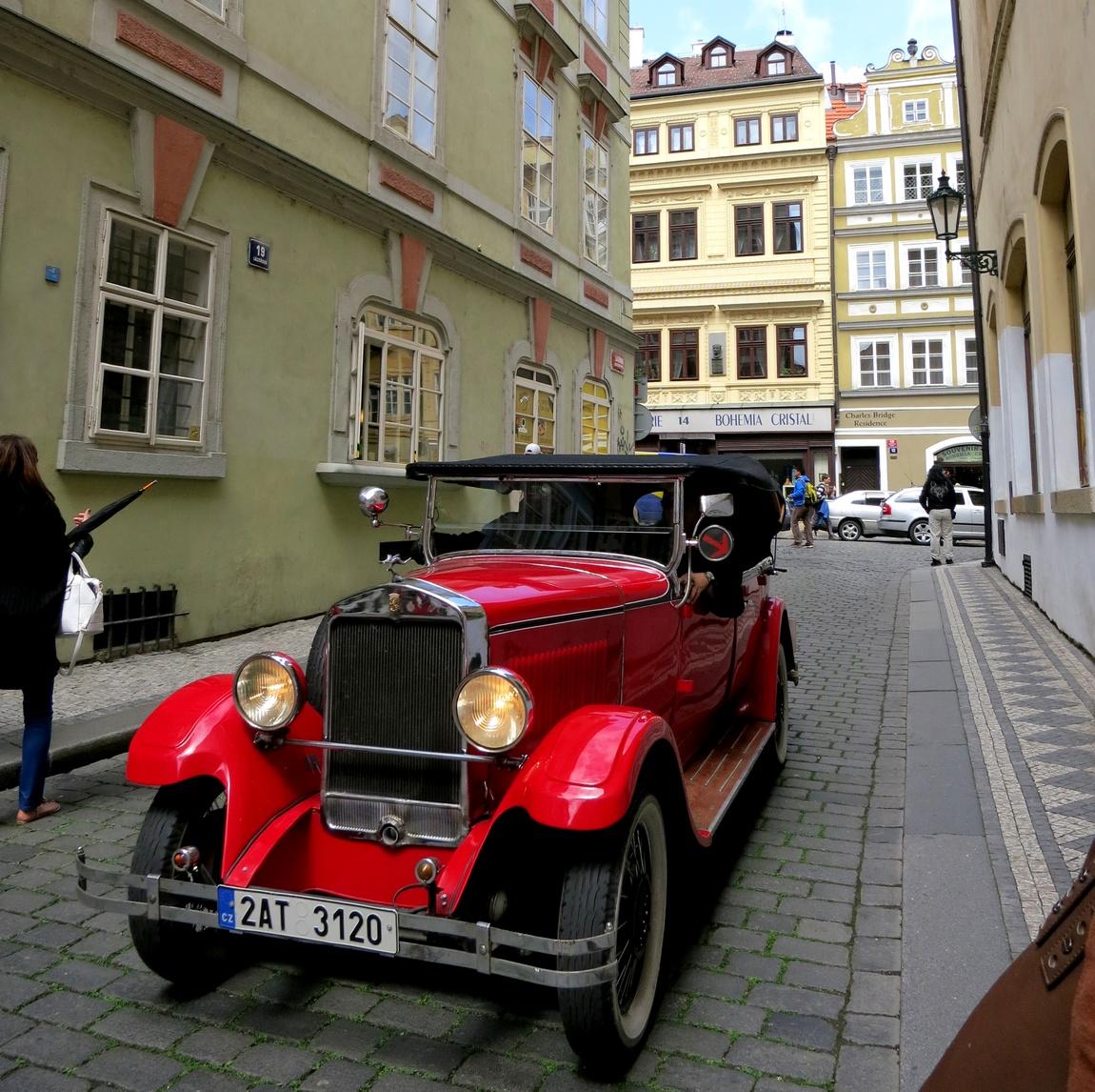 машина в Праге (Чехия)