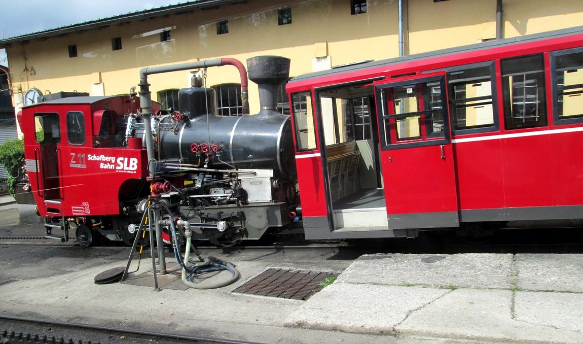 Паровоз и вагоны (Австрия)
