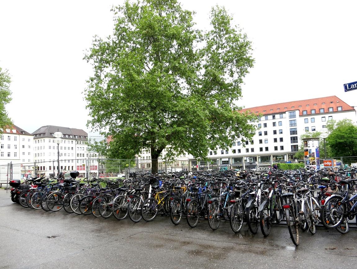 Стоянка велосипедов. (Германия)