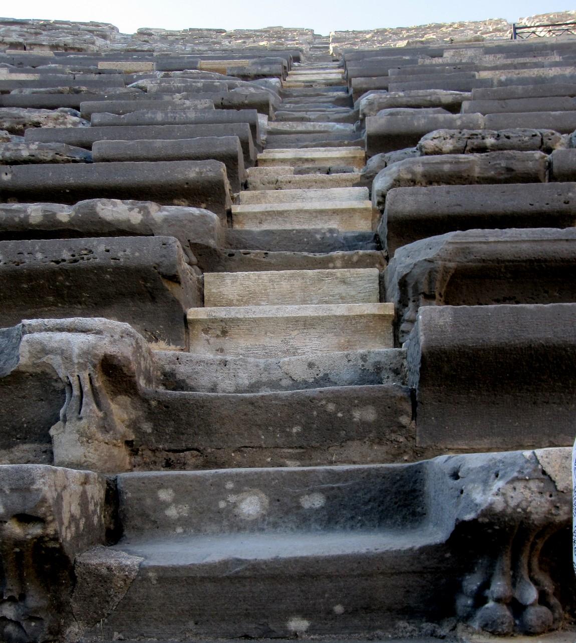 Античный театр в Сиде