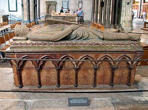 Гробница Уильяма (Длинный Меч) в Солсберийском соборе