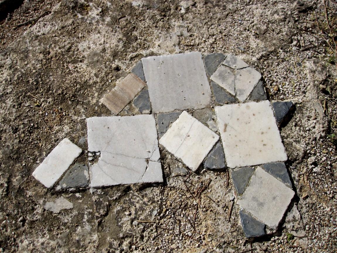 Древний город Перге - мозаика на полу