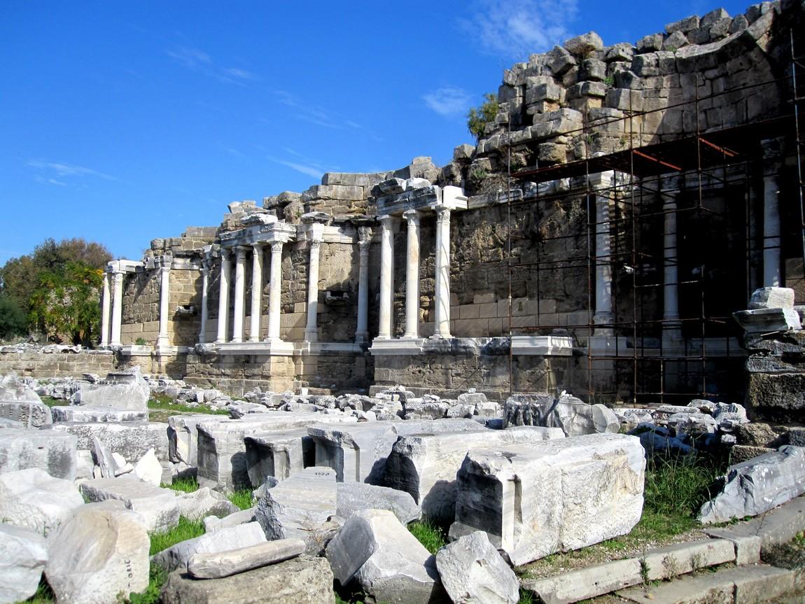 Сиде - древний город в Турции